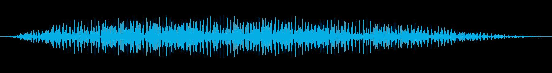 ミステリアスな呼び出し音の再生済みの波形