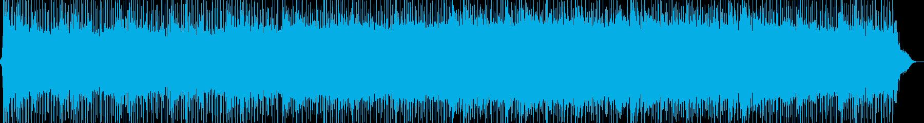 あらゆるプロジェクトの音楽の再生済みの波形