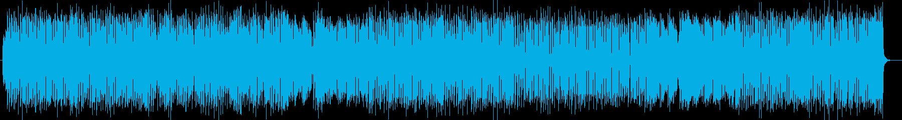明るくドラマチックなシンセサウンドの再生済みの波形