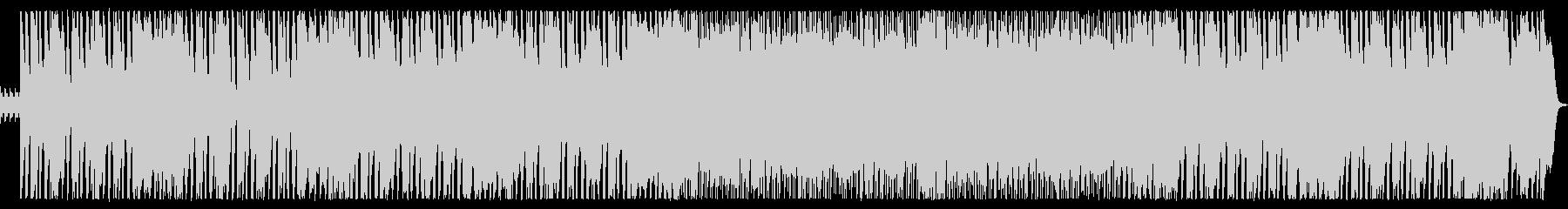 明るく軽快なロックの未再生の波形