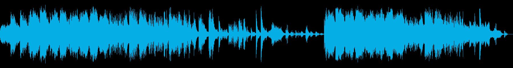 和風のエレクトロニカの再生済みの波形