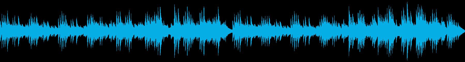サロン・休憩・配信 優しいピアノ/ループの再生済みの波形