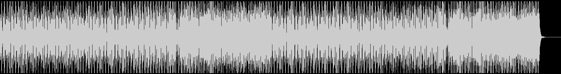 爽やかなピアノ、フルート(メロ無)の未再生の波形