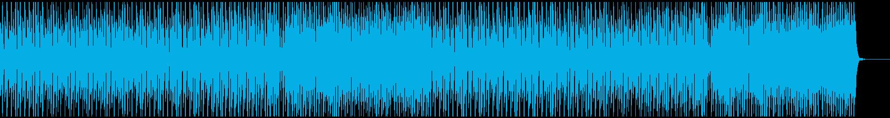 爽やかなピアノ、フルート(メロ無)の再生済みの波形