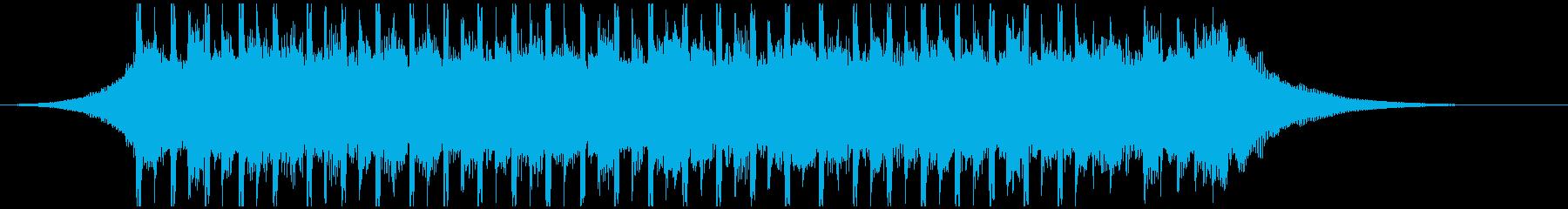 達成(ショート2)の再生済みの波形