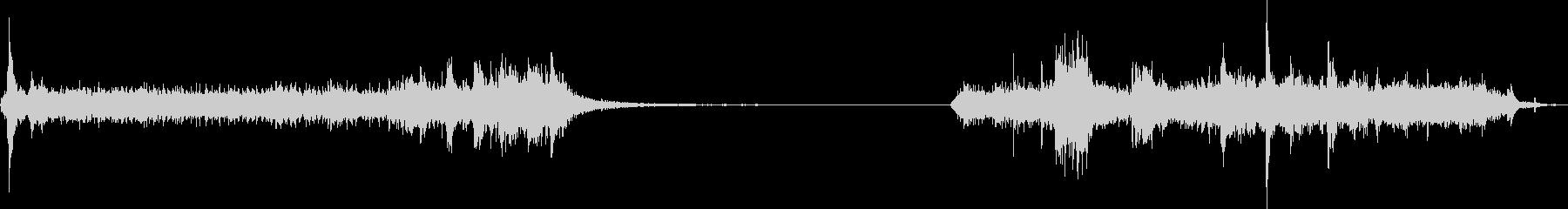 ガレージドア1。電気ガレージドアオ...の未再生の波形