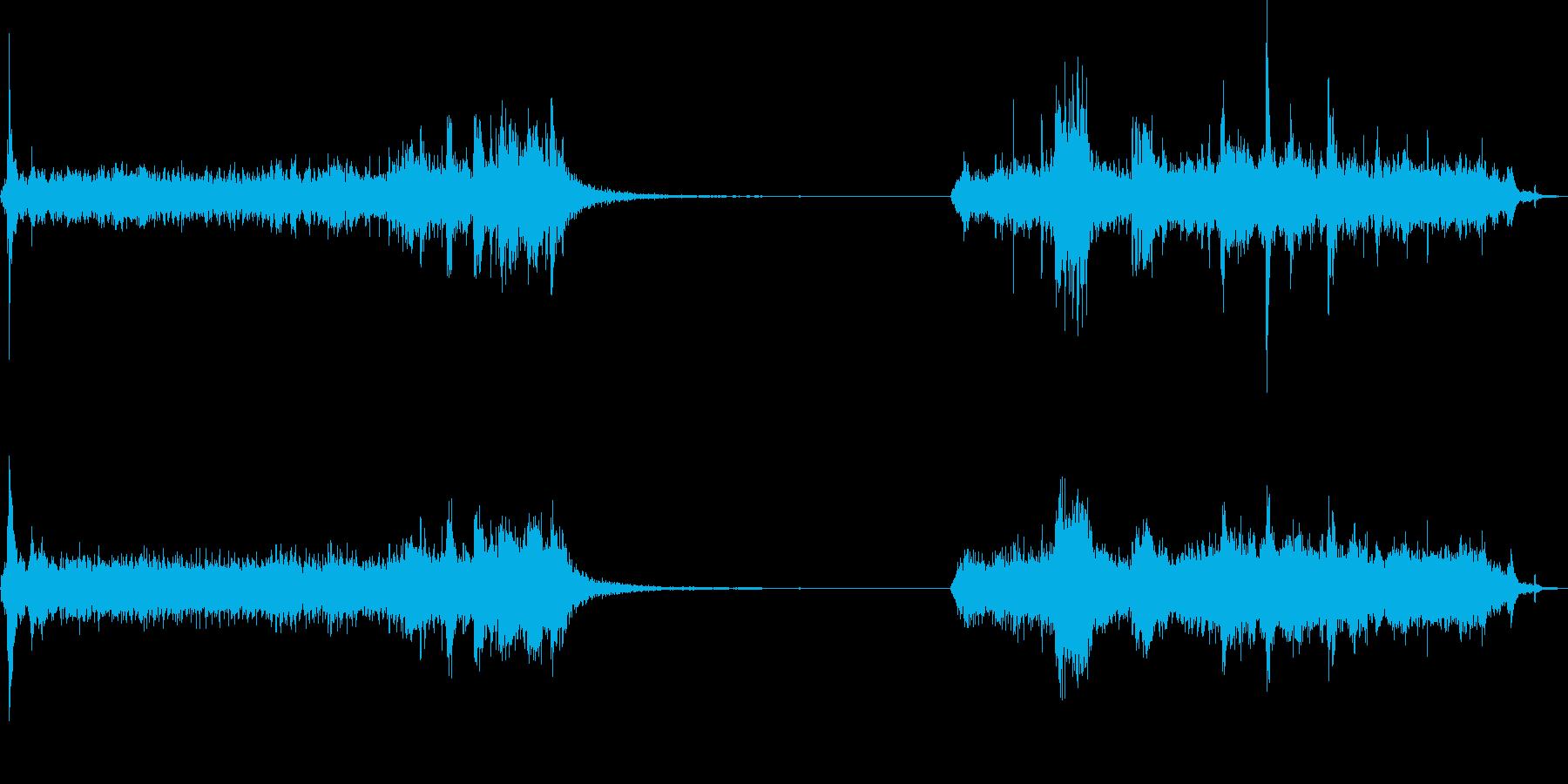 ガレージドア1。電気ガレージドアオ...の再生済みの波形