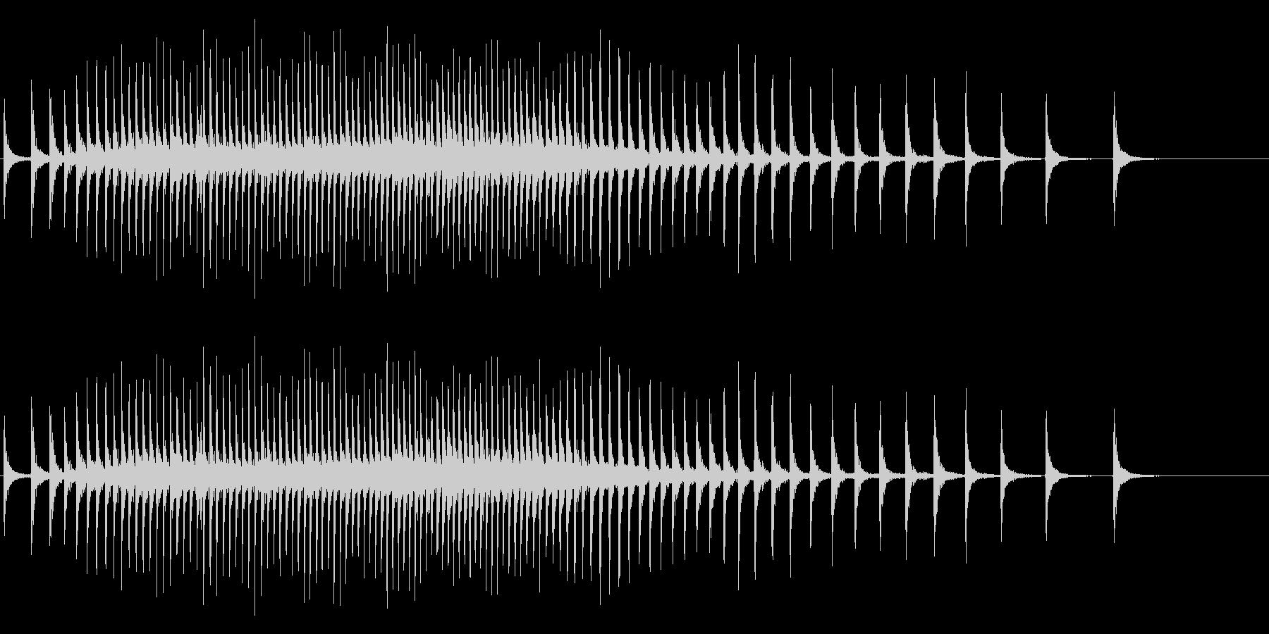 【生録音】リールの音 魚釣り 5の未再生の波形