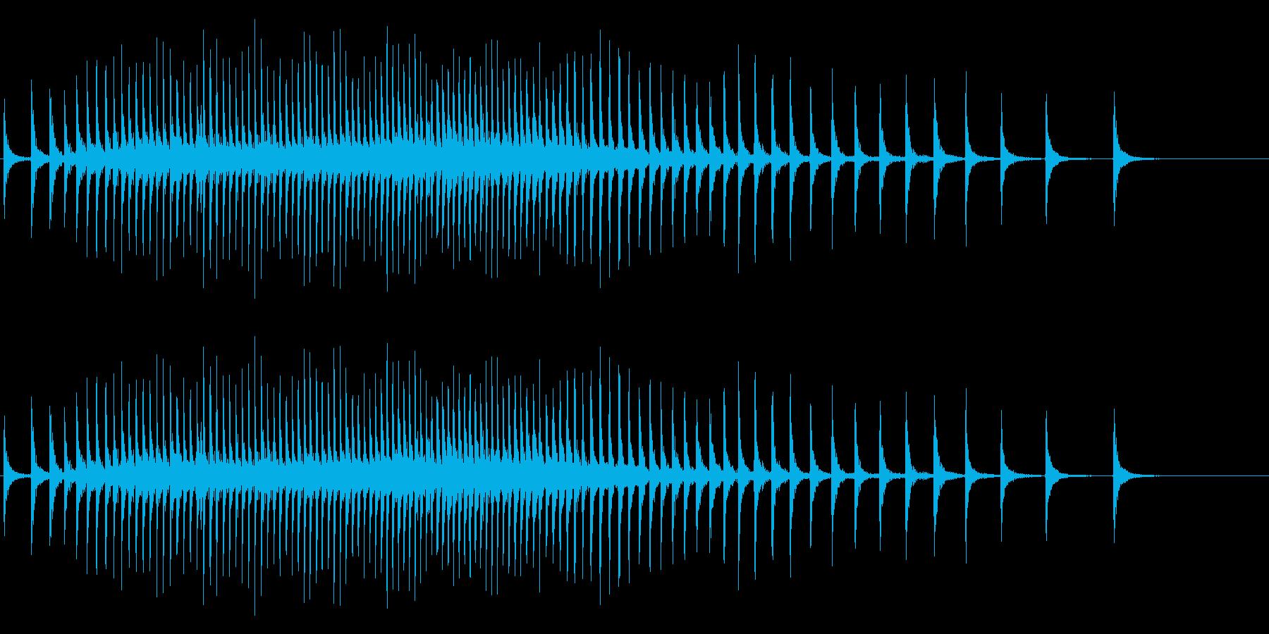 【生録音】リールの音 魚釣り 5の再生済みの波形