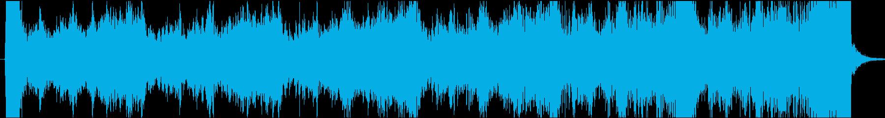 現代的 交響曲 アンビエント 実験...の再生済みの波形