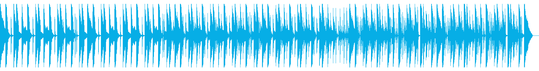 Vocal FX、167 BPMの再生済みの波形
