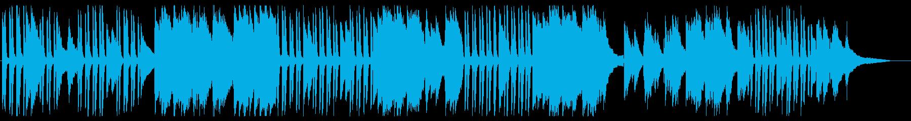 優しげなピアノのポップスの再生済みの波形