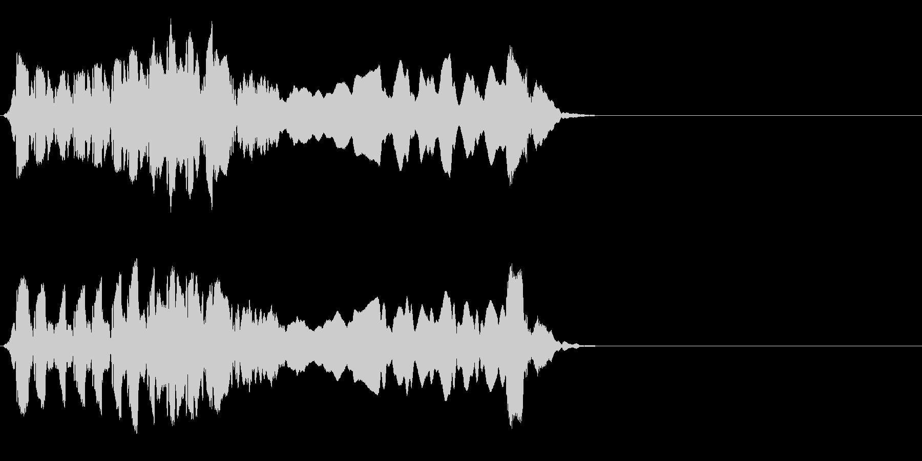 尺八 生演奏 古典風#10の未再生の波形