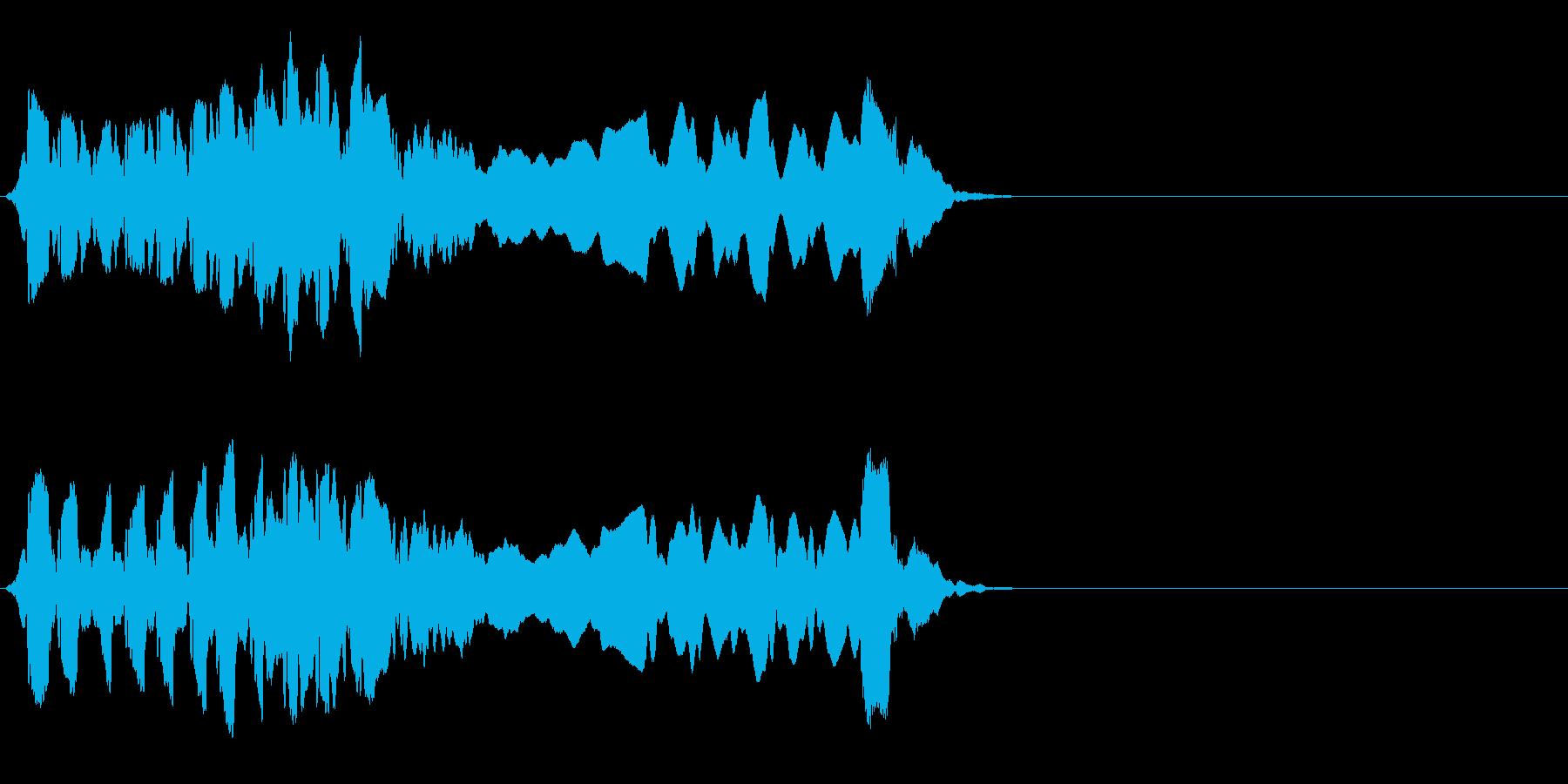 尺八 生演奏 古典風#10の再生済みの波形