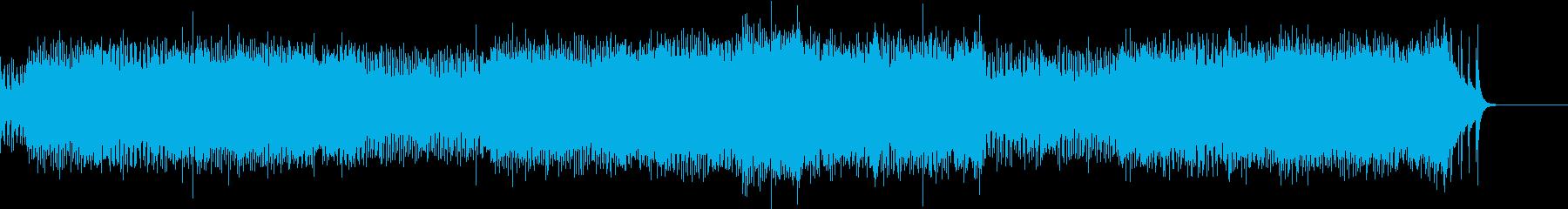 ウインターワンダーランド ロックギター!の再生済みの波形