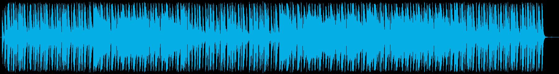 爽やかでほのぼのとしたかわいい系BGMの再生済みの波形