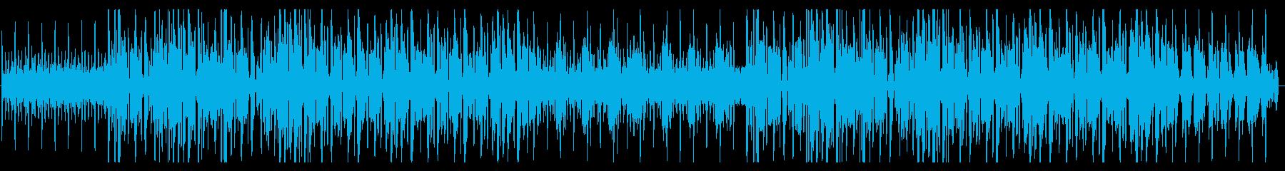 ドリーミーなシンセウェイヴの再生済みの波形