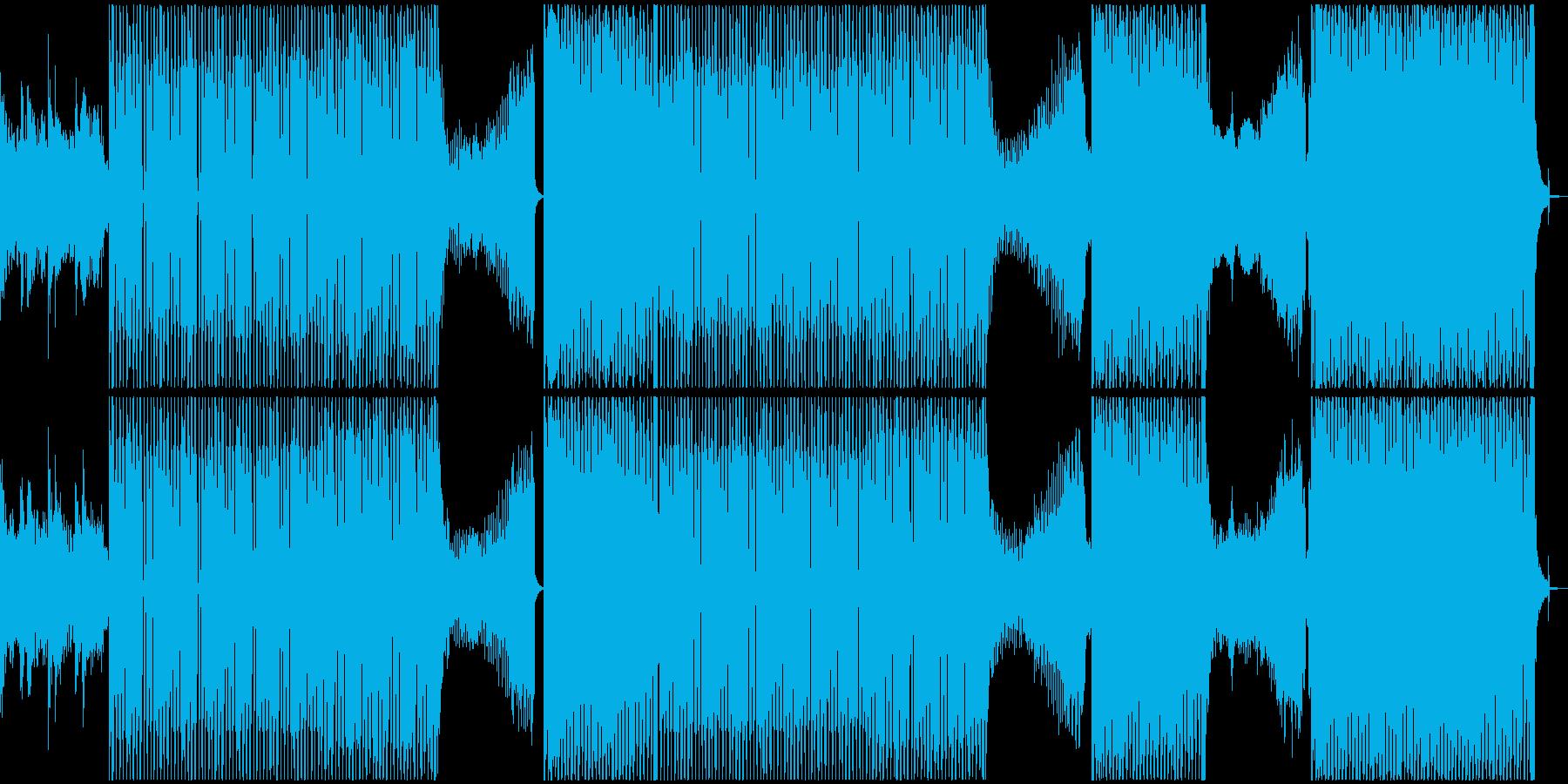 神秘的、暗い。不気味なシンセ。繰り...の再生済みの波形