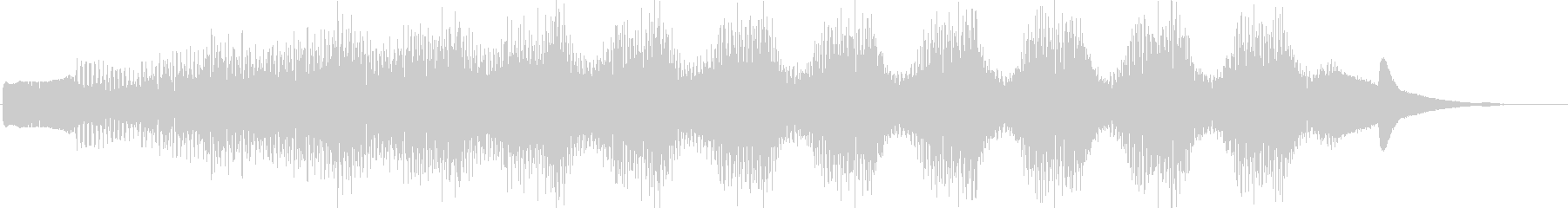KANT考えてる時の音効果音08312の未再生の波形