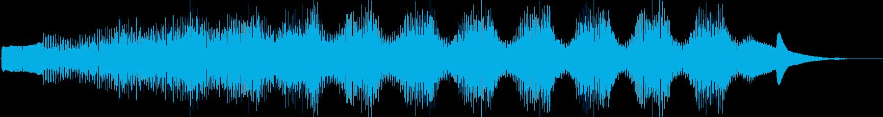 KANT考えてる時の音効果音08312の再生済みの波形