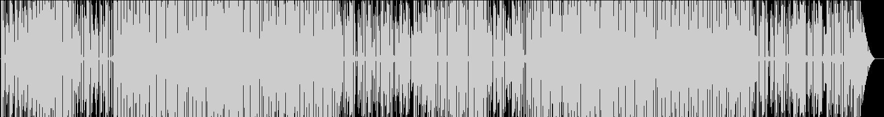 ゆめかわいいオシャレチップチューンの未再生の波形