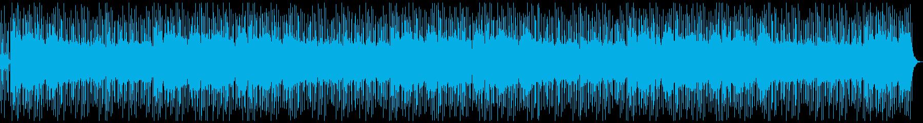 ほのぼのした懐かしい雰囲気のポップスの再生済みの波形