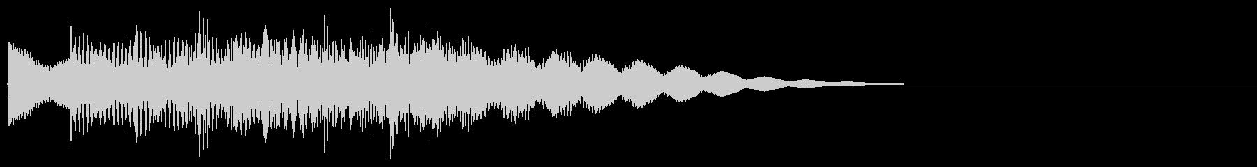 マレット系 ATМ風のフレーズ4(特)の未再生の波形