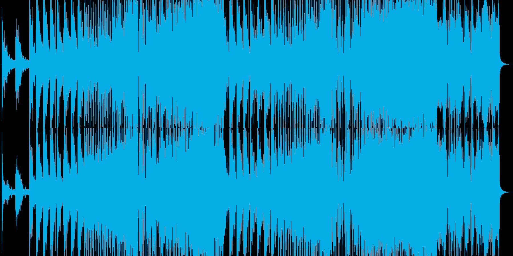 様々なシーンに最適なシネマティック音楽の再生済みの波形