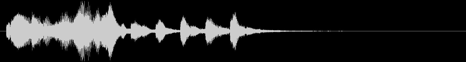 のほほんジングル032_おっとり+3の未再生の波形