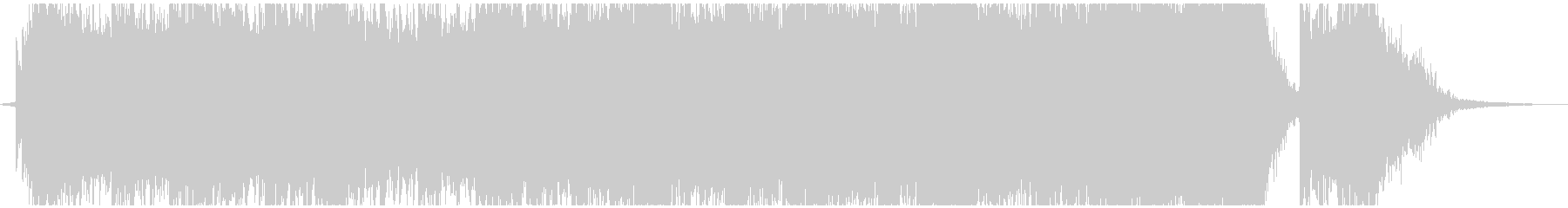 パワフルで壮大で感動的なシネマティックの未再生の波形