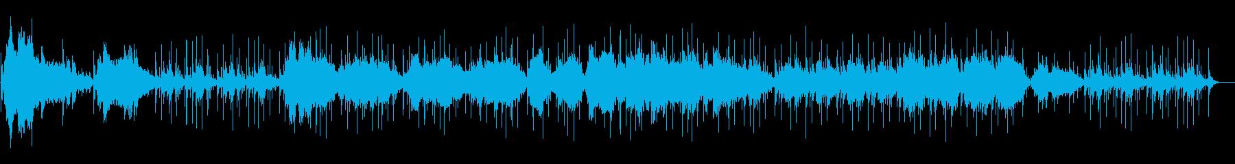 フルートの穏やかな曲【SF的】の再生済みの波形