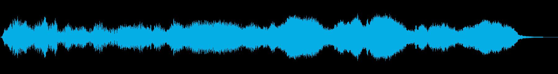 電子式静音ベッドの再生済みの波形