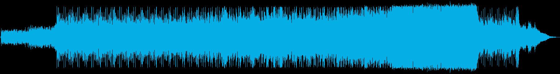 現代的 交響曲 緊張感 エピック ...の再生済みの波形