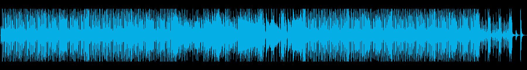 ウキウキわくわく日常のほのぼのポップスの再生済みの波形