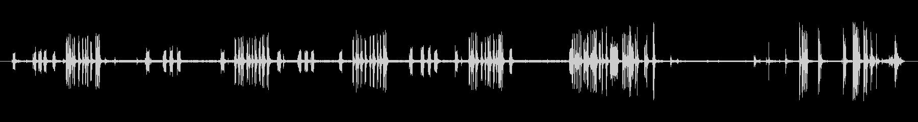 電子登録:ビープ音、オープン、クロ...の未再生の波形