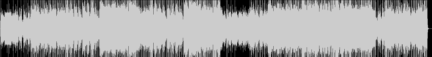 大人雰囲気のジャズファンクの未再生の波形