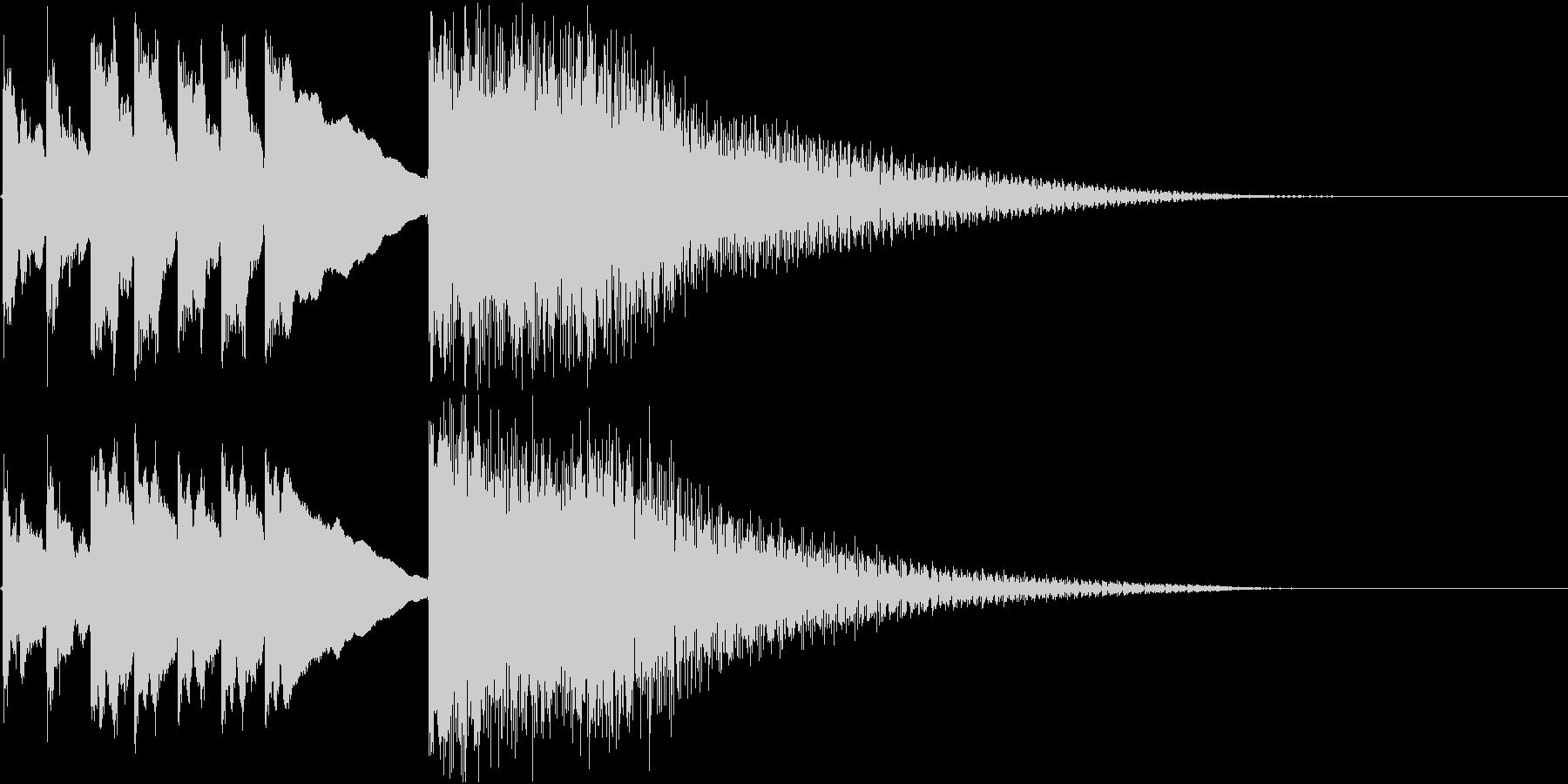 和風 箏(琴)テケテケテケージャララランの未再生の波形