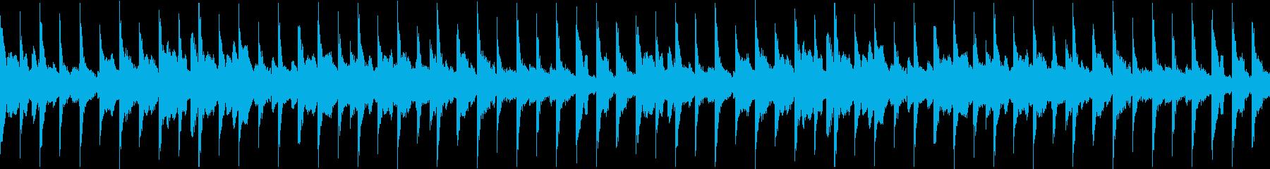 商品PVに適した ウクレレ曲【ループ】の再生済みの波形