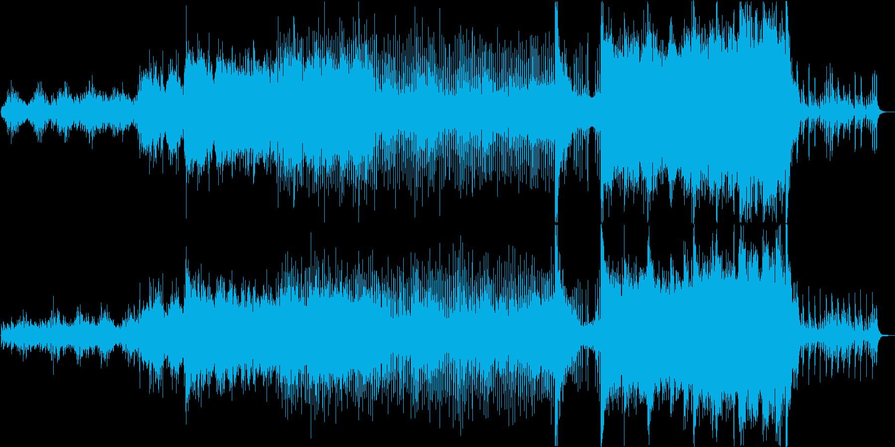 都市伝説ホラー系ハイブリッドオーケストラの再生済みの波形