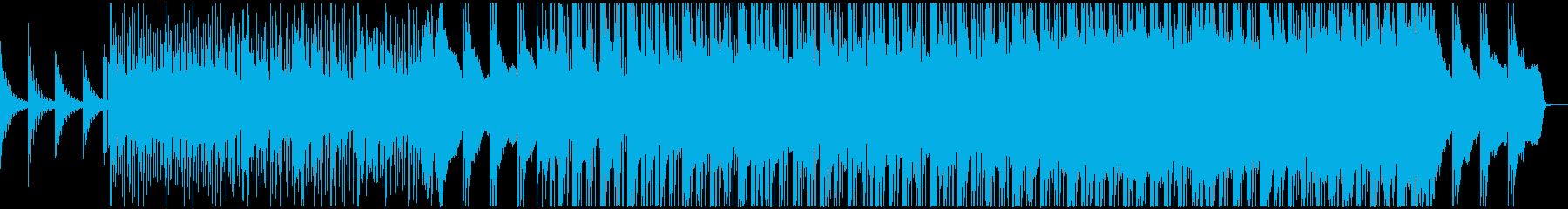 少しずつ盛り上がっていくBGMです。の再生済みの波形