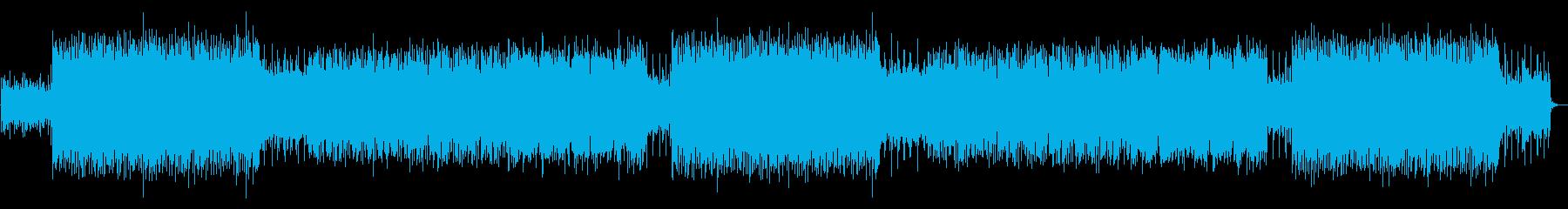 爽やかな生演奏フルートのアコースティックの再生済みの波形