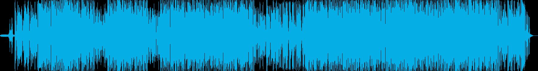 清々しく心地のよいヒーリングBGMの再生済みの波形