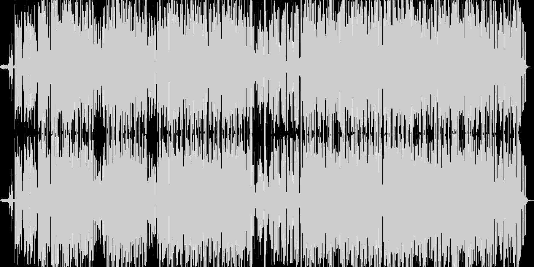 清々しく心地のよいヒーリングBGMの未再生の波形