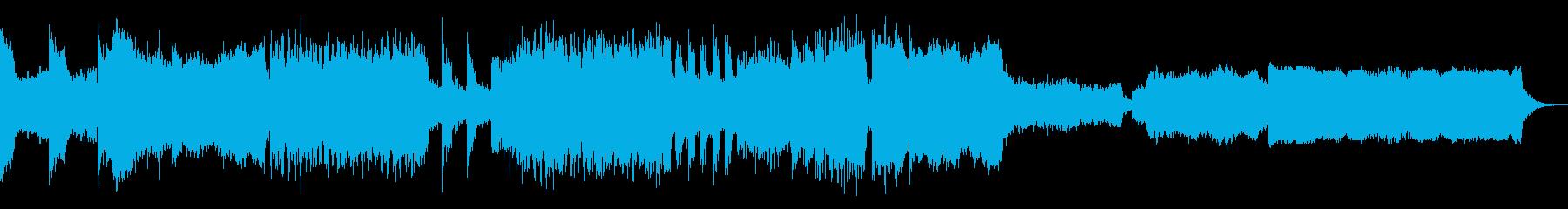 荘厳なパイプオルガン×メタル風ロックの再生済みの波形
