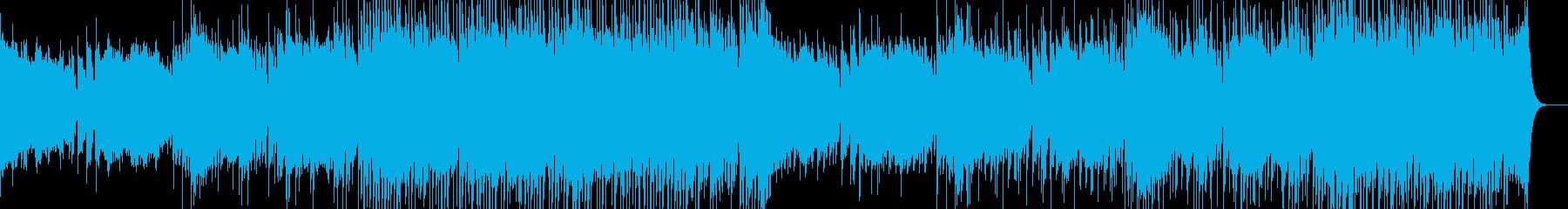 幻想的なチップチューンの再生済みの波形