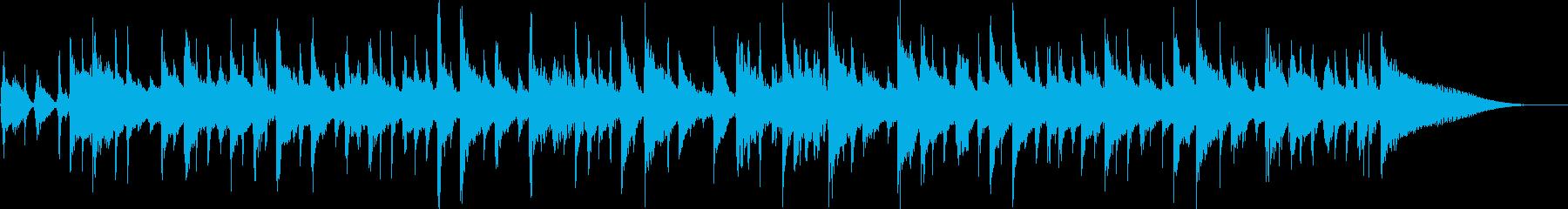 CM音楽を意識した爽やかで軽快な曲の再生済みの波形
