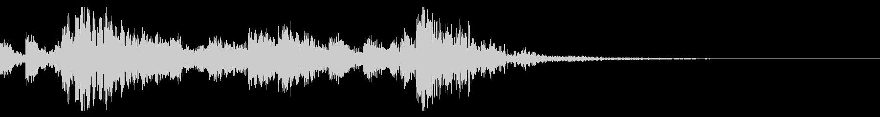 太鼓の和太鼓フレーズ/和風ジングル 34の未再生の波形