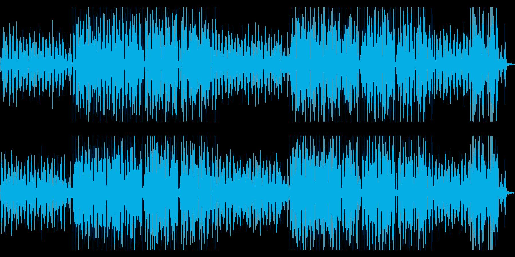 レトロでジャジーなヒップホップの再生済みの波形