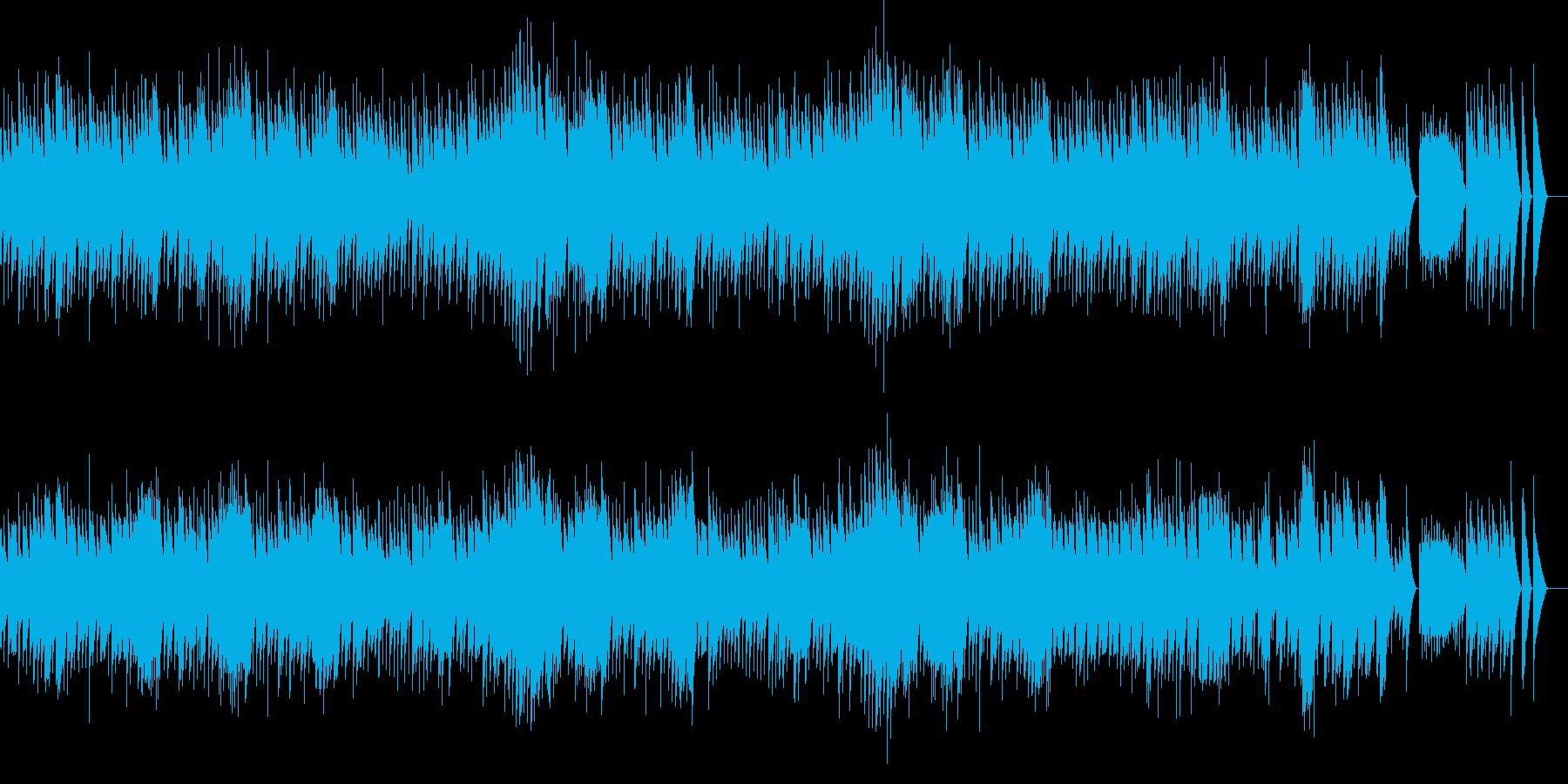 ショパンのノクターン フル尺 オルゴールの再生済みの波形