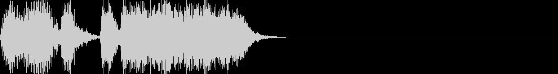 テーレッテレー(懐かしのCM風)の未再生の波形